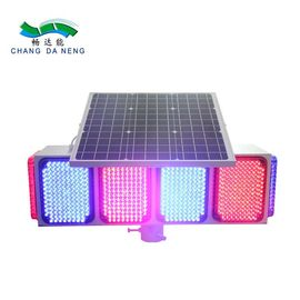 Waterproof IP65  solar traffic warning light  flash LED for roadway safety